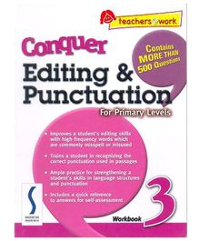 Singapore Asian Publication Conquer Editing And Punctuation For Primary 3 - English