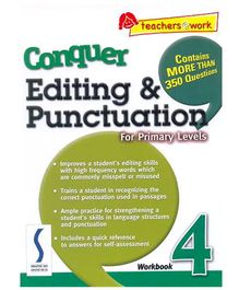 Singapore Asian Publication Conquer Editing And Punctuation For Primary 4 - English