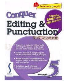 Singapore Asian Publication Conquer Editing And Punctuation For Primary 5 - English