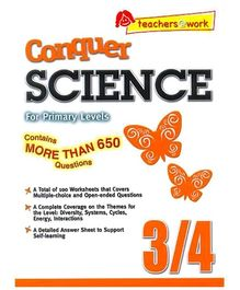 Singapore Asian Publication Conquer Science For Primary Levels 3 - 4 English