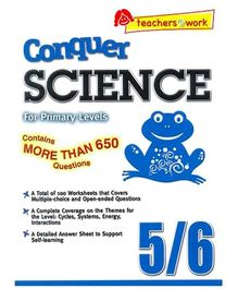Singapore Asian Publication Conquer Science For Primary Levels 5 - 6 English