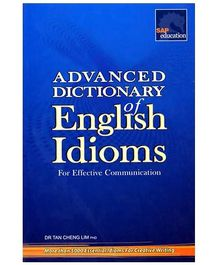 Singapore Asian Publication Advanced Dictionary Of English Idioms