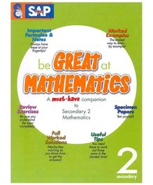 Singapore Asian Publication Be Great At Mathematics For Secondary 2 - English