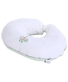 Chicco Boppy Feeding And Infant Support Pillow With Velour Slip Cover - 47 x 57 x 16 cm