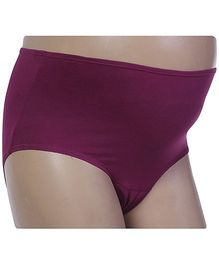 Bodycare Maternity Panty - Wine Color