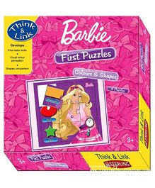 Sterling Barbie First Puzzles Colors And Shapes