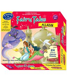 Sterling Fairy Tales Aladdin - 24 Piece Jigsaw Puzzle