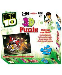 Sterling Ben 10 3D Puzzle - 24 Piece Jigsaw Puzzle