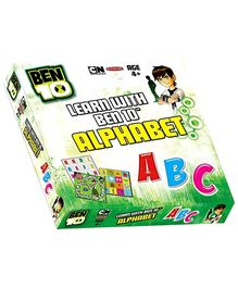 Sterling Learn With Ben 10 Ultimate Alien Alphabet - 2 Games In 1