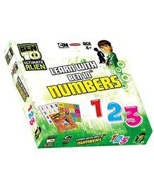 Sterling Learn With Ben 10 Ultimate Alien Numbers - 2 Games In 1
