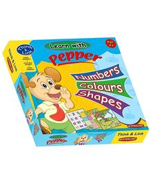 Sterling Learn With Pepper Number Colour And Shapes - 2 Games In 1