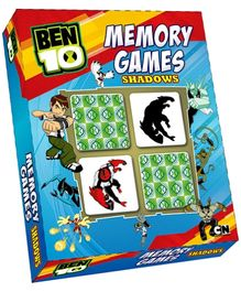 Sterling Ben 10 Ultimate Alien Memory Games Shadows - 64 Cards
