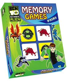 Sterling Ben 10 Ultimate Alien Memory Games Pairs - 64 Cards