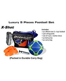 Speed Up Luxury Football Set - 5 Piece (Color May Vary)