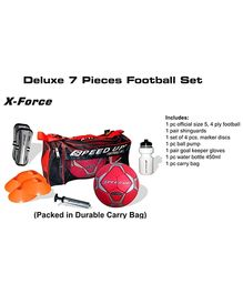 Speed Up Deluxe 7 Piece Football Set (Color May Vary)