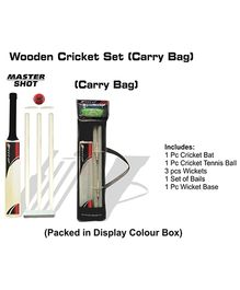 Speed Up Master Shot Boxed Wooden Cricket Set