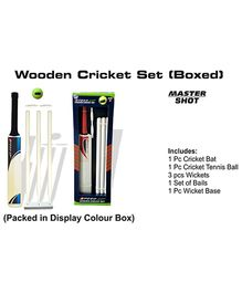 Speed Up Boxed Master Shot Cricket Set