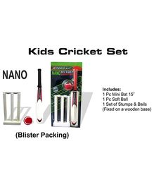 Speed Up Nano Kids Cricket Set