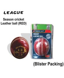 Speed Up League Cricket Leather Ball