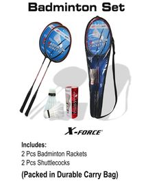 Speed Up X-FORCE Badminton Racket Set (Color May Vary)