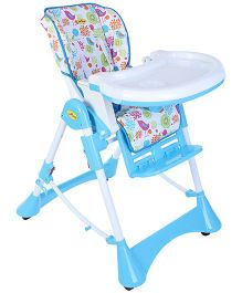 1st Step Adjustable High Chair Blue - ST-1088 BL