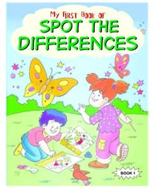 Shree Book Centre My First Book of Spot the Differences Book 1