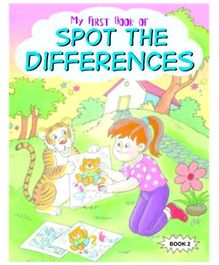 Shree Book Centre My First Book of Spot the Differences Book - 2