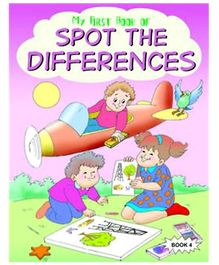 Shree Book Centre My First Book of Spot the Differences Book - 4