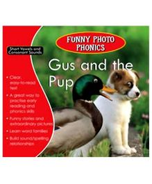 Shree Book Centre Funny Photo Phonics Gus and The Pup - English