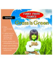 Shree Book Centre Funny Photo Phonics Grass Is Green - English