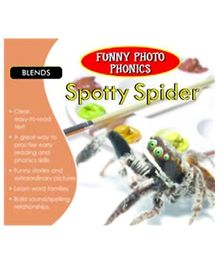 Shree Book Centre Funny Photo Phonics Spotty Spider - English