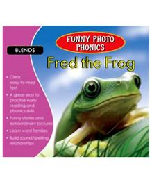 Shree Book Centre Funny Photo Phonics Fred The Frog - English