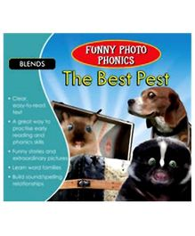 Shree Book Centre Funny Photo Phonics The Best Pest - English