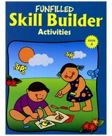 Shree Book Centre Funfilled Skill Builder Activities Book 4 - English
