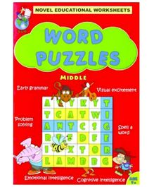 Shree Book Centre Novel Educational Worksheets Word Puzzles Middle - English
