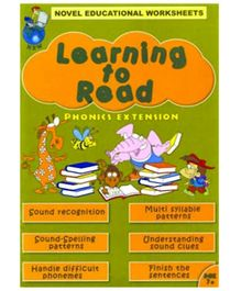 Shree Book Centre Novel Educational Worksheets Learning To Read Phonics Extension - English