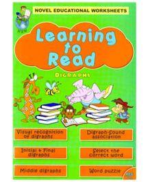 Shree Book Center Novel Edu Wks Learning To Read Digraphs