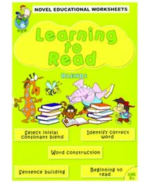 Shree Book Centre Novel Educational Worksheets Learning To Read Blends - English