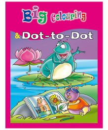 Shree Book Centre Big Colouring And Dot To Dot - English