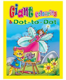 Shree Book Centre Giant Colouring And Dot To Dot - English