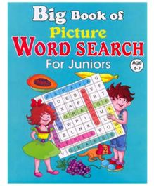 Shree Book Centre Big Book Of Picture Word Search For Juniors - English