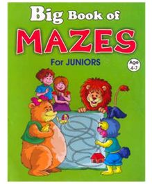 Shree Book Centre Big Book Of Mazes For Juniors - English