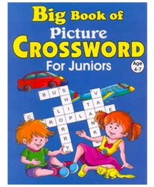 Shree Book Centre Big Book Of Picture Crossword For Juniors - English