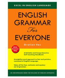 Shree Book Centre English Grammar For Everyone - With Answer Key