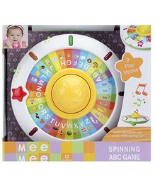 Mee Mee Spinning ABC Game - 12 Months Plus