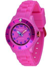 Madison Kids Analogue Wrist Watch - Pink