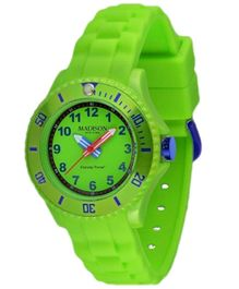 Madison Kids Analogue Wrist Watch - Green