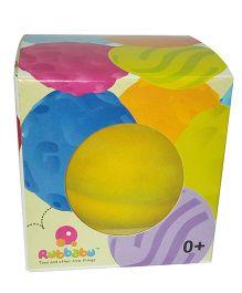 Rubbabu Natural Foam Turquoise Top Ball - 10 Cm