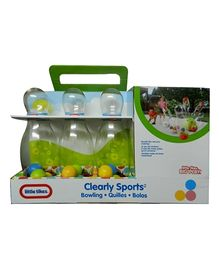 Little Tikes Clear Sports Bowling Set - Green