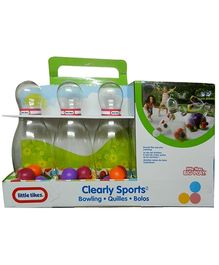 Little Tikes Clearly Sports Bowling Set - Purple
